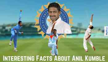 Interesting Facts About Anil Kumble