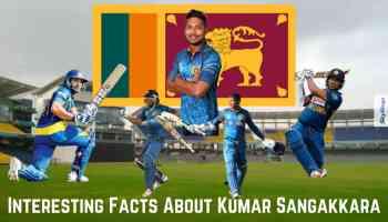 Interesting Facts About Kumar Sangakkara