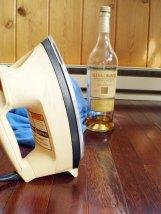iron, t-shirt, Scotch