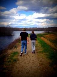 maria wes walking lake