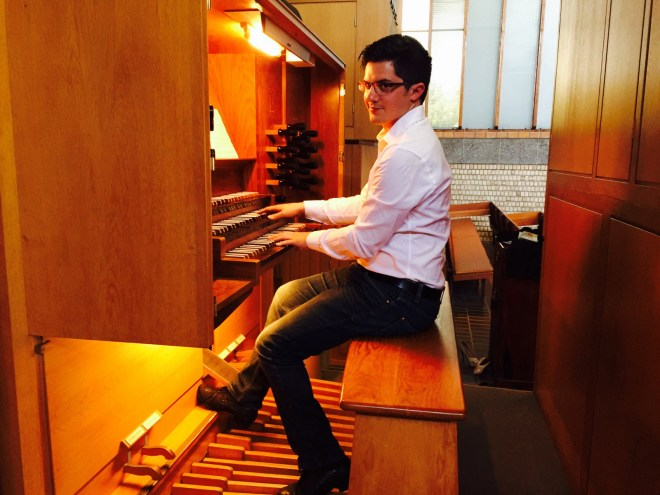 Organists South Africa Winand Grundling