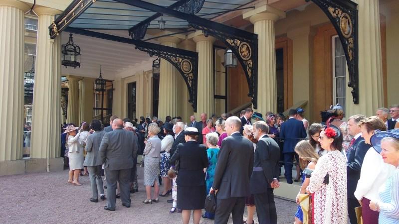 Royal Investiture at Buckingham Palace London