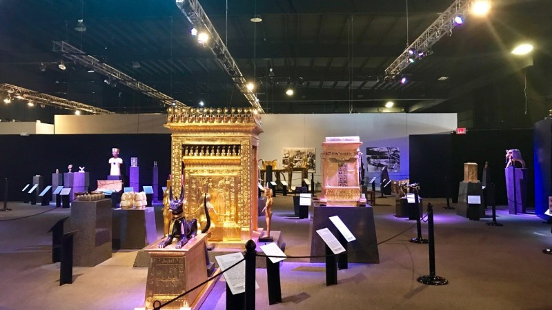 A Day in Tutankhamun's Tomb!