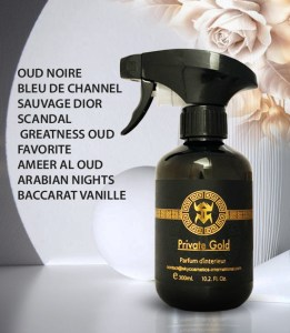 parfum private gold