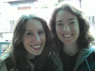 My roommate, Aimee, left yesterday to return home to Ireland via the Philipines after this summer