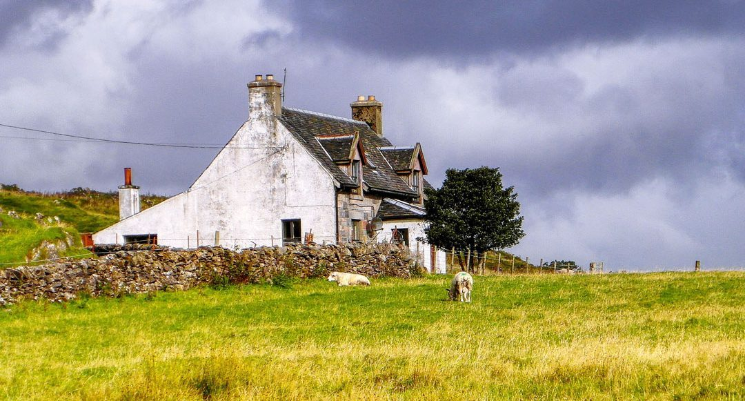 Sustainable renovation and construction on Skye