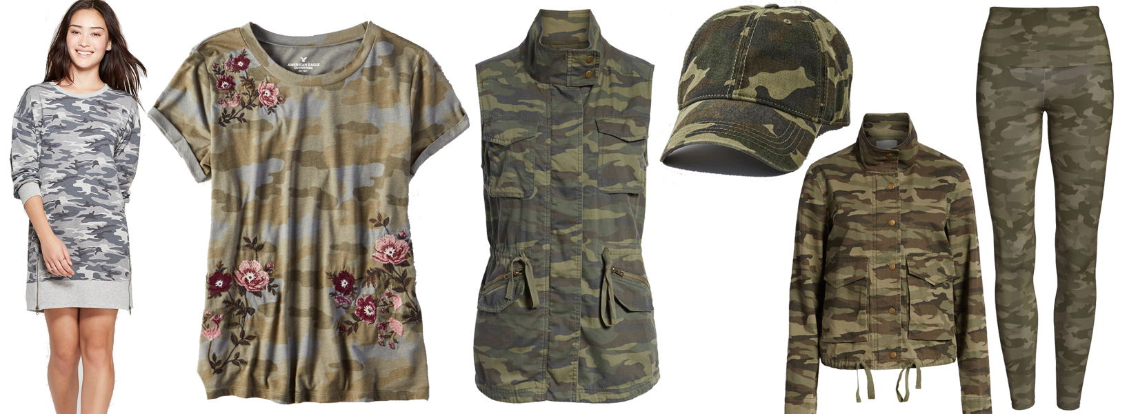 The Best Camo Finds for Fall