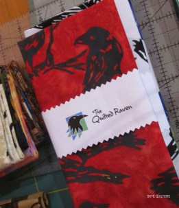 Raven fabric