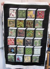 Boxes Attic window quilt