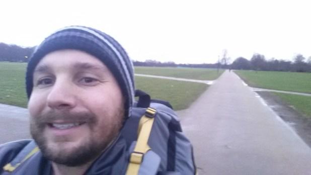 Walking Through Hyde Park