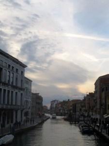 Beautiful Sky over Venice