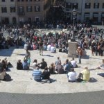 Spanish Steps from Above