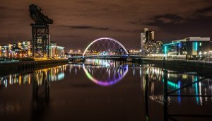 Clyde arch, Glasgow, Scotland