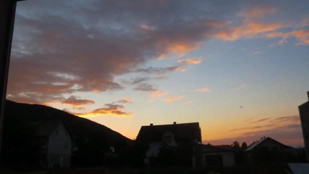 Falling Lakes Hostel Sunset