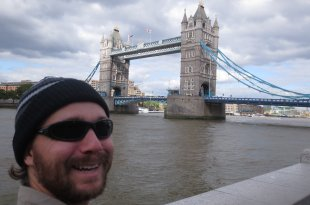 Selfie at Tower Bridge