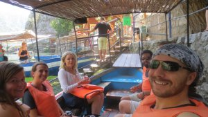 Boat Ride on Lake Matka