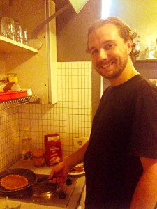 Cooking at Hostel Propaganda