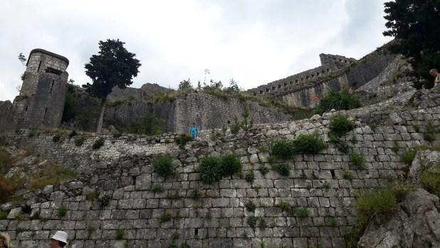 St John Fotress in Kotor