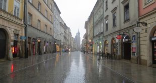 Thunderstorm in Krakow