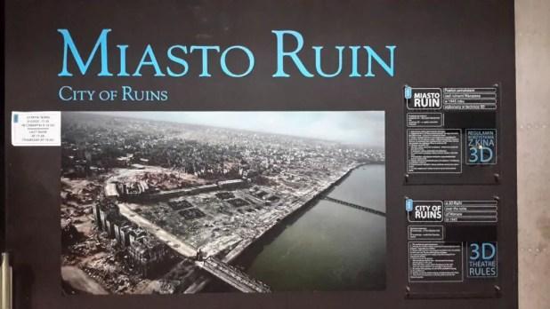 City of Ruins 3D Show