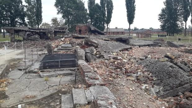 Ruins of Birkenau Crematorium