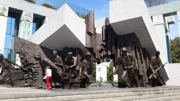 Warsaw Monument to Insurgents