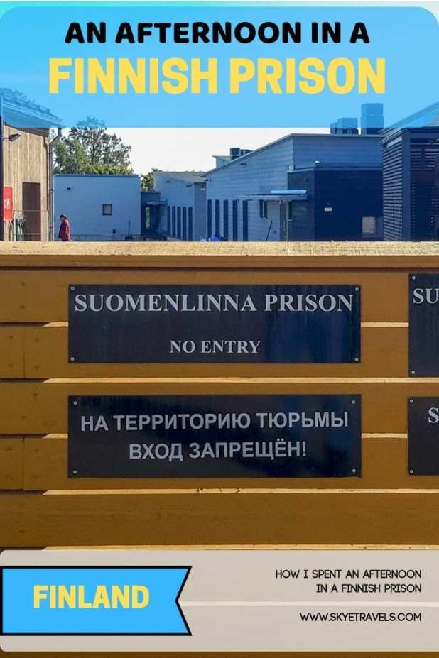 Afternoon in a Finnish Prison Pin