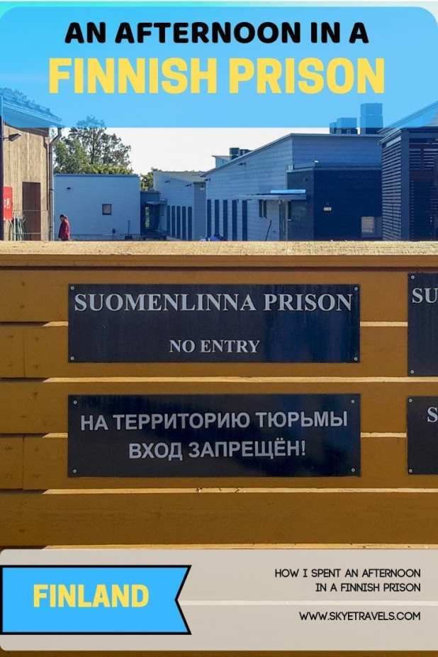 This is the post you\'ve all been waiting for. I\'ll finally answer why I was in Finnish prison for an afternoon in Helsinki. Well, I wasn\'t the prisoner. #FinnishPrison #Helsinki #Suomenlinna #SuomenlinnaIsland #Adventure #Finland #OpenPrison