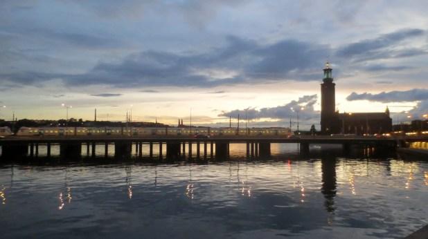 Stockholm at Sunset