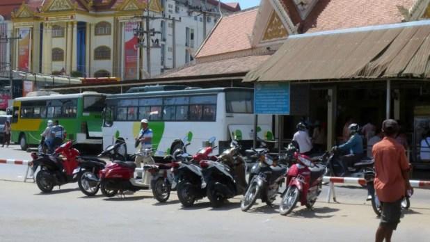 Cambodian Border Bus Scam