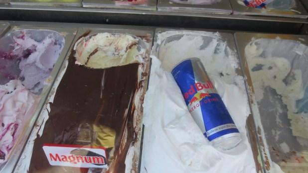 Red Bull Ice Cream