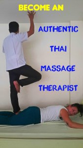 Authentic Thai Massage Pin
