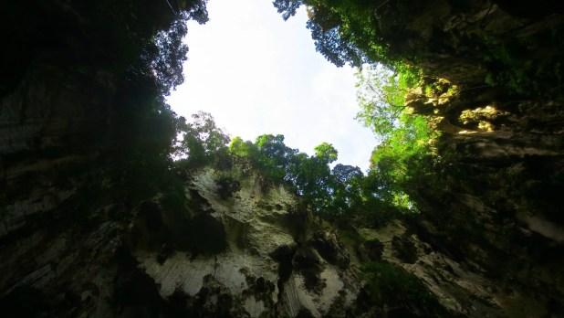 Batu Pit Cave Opening