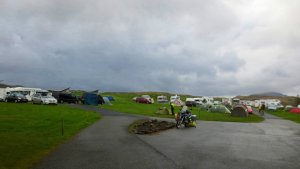 Camping on the Isle of Skye