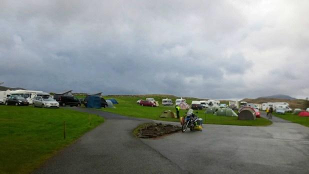 Camping on the Isle of Skye