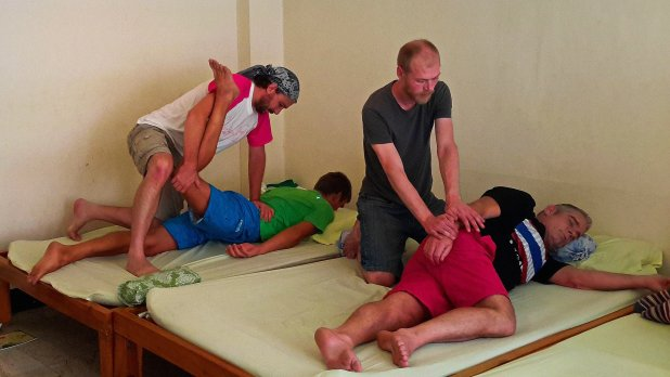 Wat Pho Authentic Thai Massage Positions
