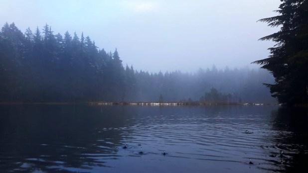 Summit Lake on Orcas Island