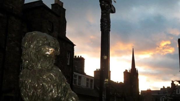 Grayfriar's Bobby Statue