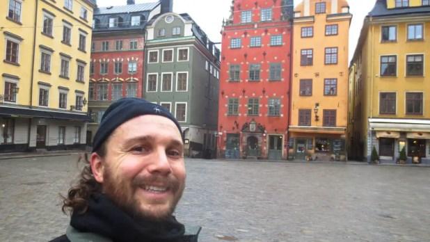 Selfie in Stockholm