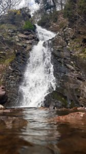 Waterfall in the Pentlands