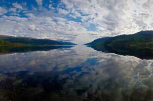 Loch Ness Reflection