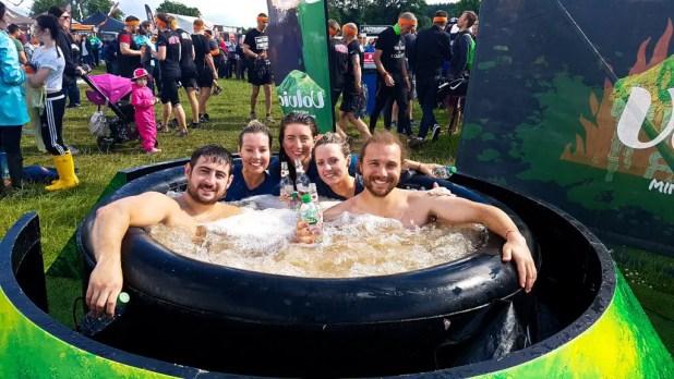Tough Mudder Hot Tub