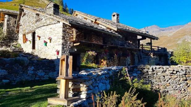 Rebuilt Stone Lodge