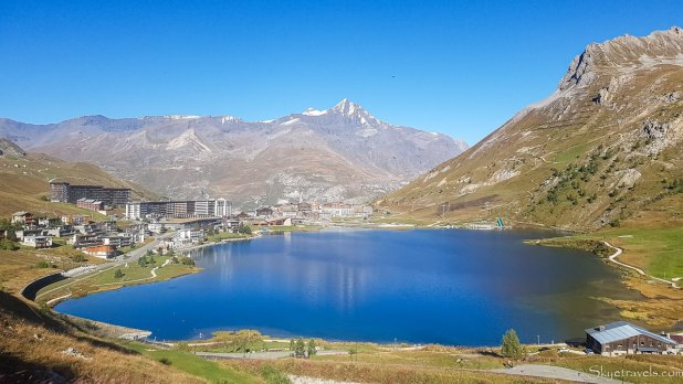 Tignes from the Hill #1
