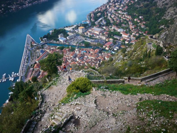 Kotor from Above