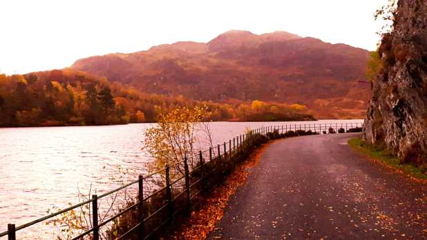 Loch Katrine in Autumn
