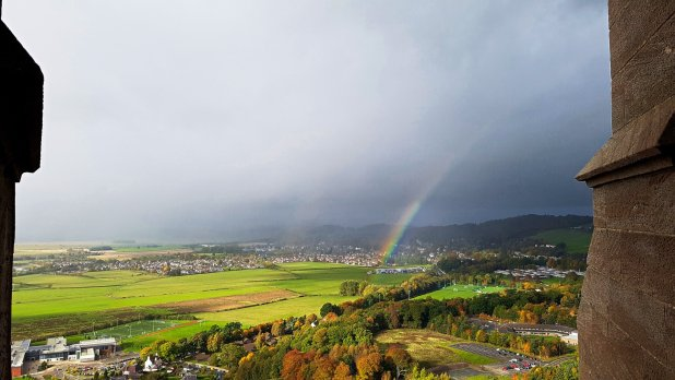Wallace Monument View