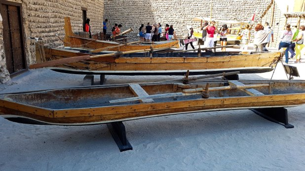 Boats in Dubai Museum