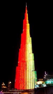 Burj Khalifa Ligh Show #2