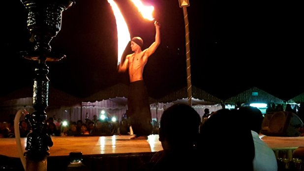 Desert Safari Fire Dancer